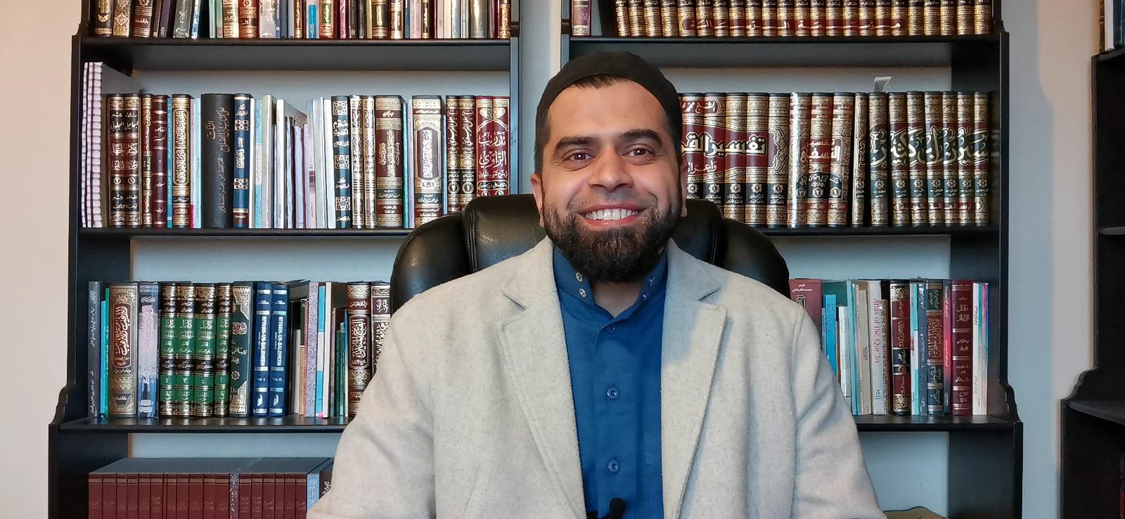 A photo of Shaykh Noorud-deen Rashid